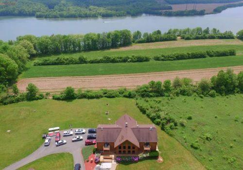 Aerial View - Lake View Lodge