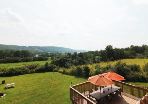 Backyard View - Lake View Lodge