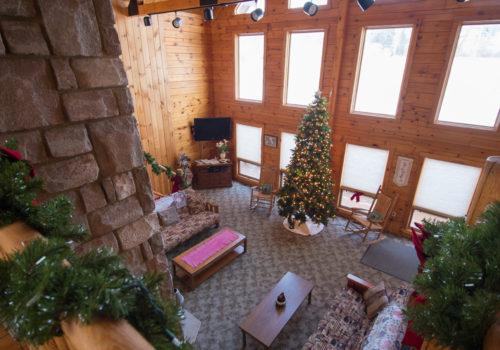 Christmas Rec Room - Lake View Lodge
