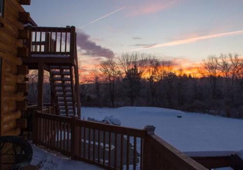 Dusk - Lake View Lodge
