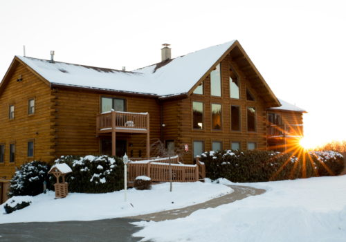 Winter - Lake View Lodge
